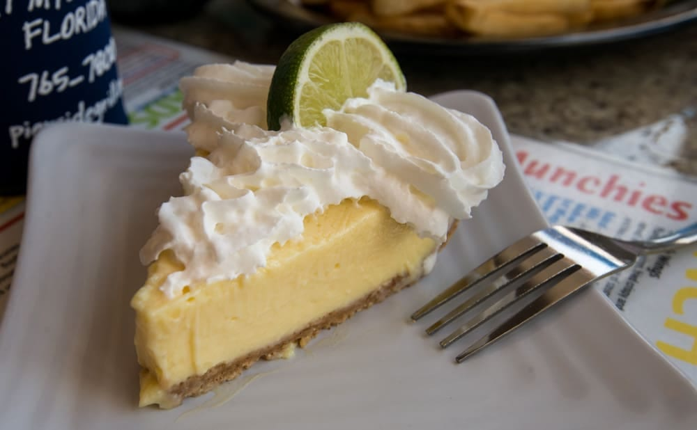 The Pierside Key Lime Pie